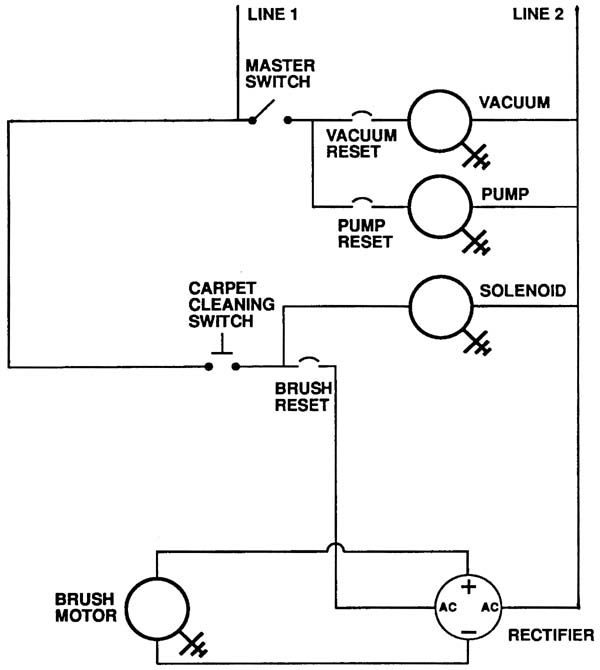 Carpet Cleaner Wiring Diagram