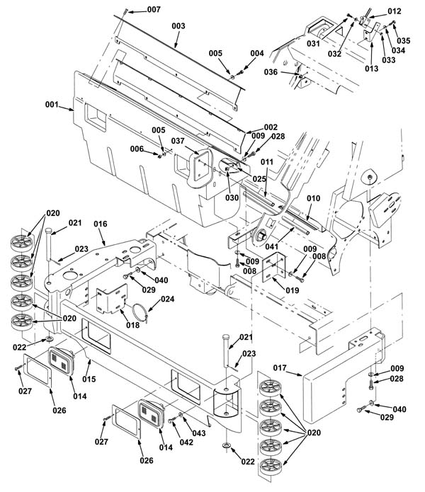 Hopper And Bumper Assembly 1759528: Square D 8538 Wiring Diagram At Teydeco.co