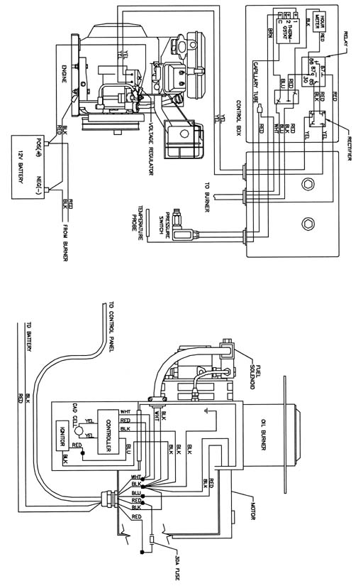 Burner Wiring Diagram | Wiring Diagram on