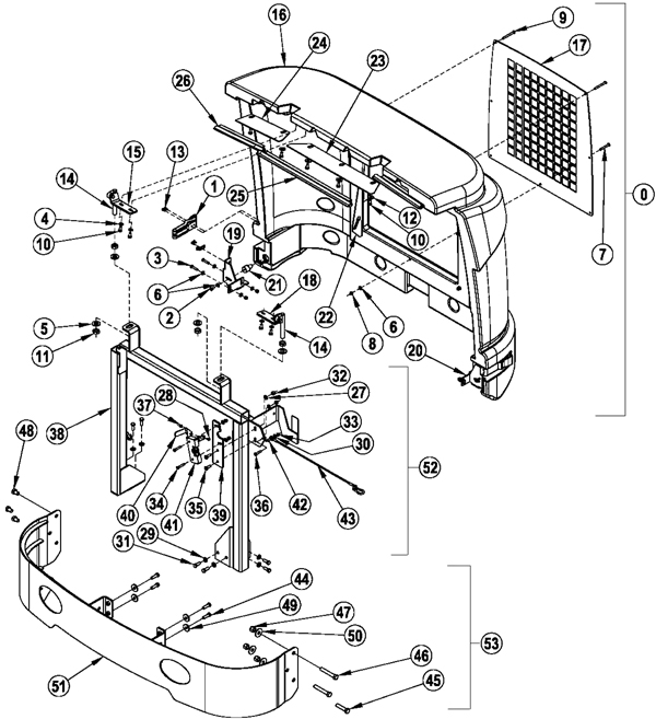 untitled document Pesticide Filter chassis assembly 2 272 7610