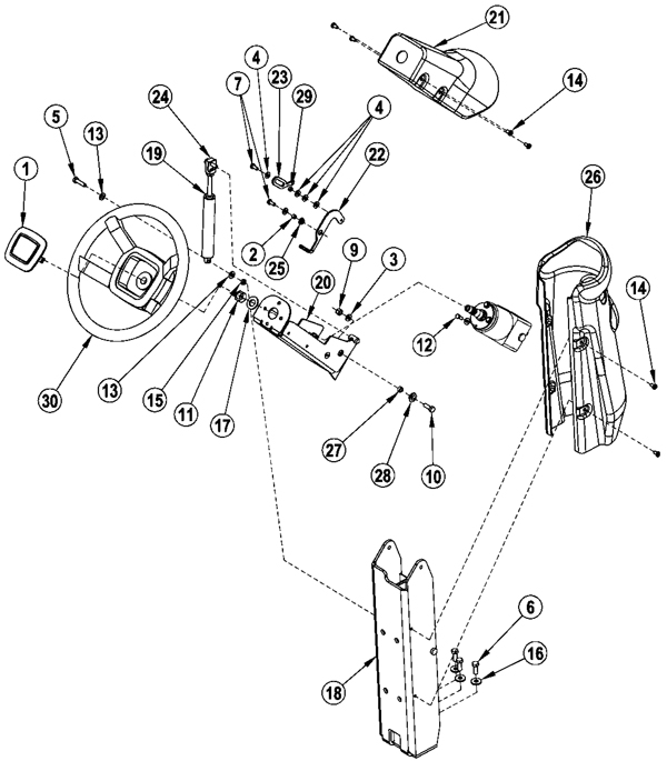 untitled document GM Fuel Filter control assembly steering 272 7613