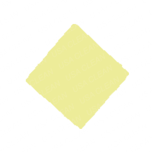Hillyard C3 Restroom Cleaning : Microfiber cloth inch yellow details